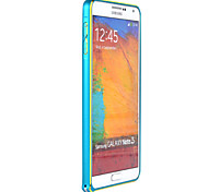 Metal Border Arc Edge Mobile Phone Shell for Samsung NOT3
