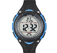 Sport-Uhr Herren Stopuhr / Nachts leuchtend Japanischer Quartz digital Armband