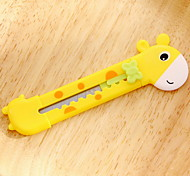 Giraffe Pen Art Knife(1 PCS Random Color)