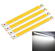 YouOKLight® 18W 1700lm 6500K LED White Light Bar - Silver + Yellow (12~14V)
