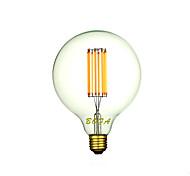 Bombillas LED de Globo Regulable / Decorativa NO G95 E26 / E26/E27 8W 8 COB 500-700 lm Blanco Cálido AC 100-240 V 1 pieza