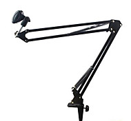 Microphone Suspension Boom Scissor Stand Holder for Studio Broadcast Recording Stents