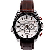 Men's Fashion Watch Fashion Large Dial Three Weeks Month, Six-Pin Automatic Mechanical Men's Watches(Assorted Colors) Cool Watch Unique Watch