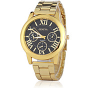 Women's Fashion Watch Quartz Stainless Steel Band Gold