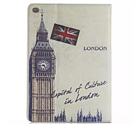 Places of Historic Interest Leather Case with Card Holders For Apple iPad Air 2,Smart Cover Leather Case