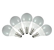 5 pcs fsl®3w e14 / e26 / e27 conduit ampoules globe cms 2835 200 Les lm de g60 blanc chaud / blanc froid ac 220-240 v
