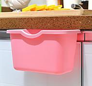 Candy-colored Kitchen Can Organize Storage Box Hanging Trash Debris
