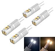 Bombillas LED de Mazorca Decorativa YouOKlight T G9 3W 6 SMD 3014 100 lm Blanco Cálido / Blanco Fresco DC 12 / AC 12 V 4 piezas