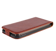 Hot Sale 100% PU Leather Flip Leather Up and Down Case for HTC One M9(Assorted Colors)