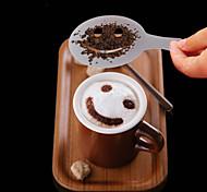 12шт пластик фантазии приготовления кофе печати модель минималистский дизайн пыление накладка