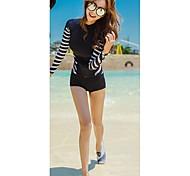 les femmes sexy maillots de bain maillot de bain uv conjoint de protection solaire maillots de bain méduses manches longues combinaisons