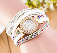 Women's  Long With South Korea Diamond Quality Cashmere Fashion Leisure Products Watches (Assorted Colors)