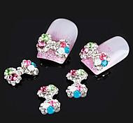 mentales color joyas de diamantes arco ab uñas taladro precioso (al menos 5pcs)