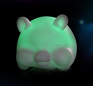 Creative Color-Changing Colorful Pig LED Nightlight