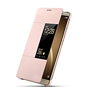 Luxury Smart Window Sleep Wake UP Flip Leather Case For Huawei Ascend P9 (Assorted Colors)