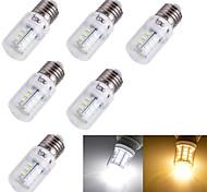 Bombillas LED de Mazorca Decorativa YouOKLight® T E14 / E26/E27 3W 24 SMD 5730 175 lm Blanco Cálido / Blanco FrescoAC 100-240 / AC