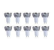10pcs MORSEN® GU10 3W 200-250LM Support Dimmable Light LED Spot Bulb