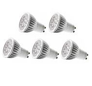 5pcs MORSEN® GU10/GU5.3/E27 5W 350-400LM Support Dimmable Light LED Spot Bulb
