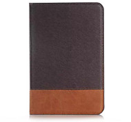 For Samsung Galaxy Case Card Holder / Wallet / with Stand / Flip Case Full Body Case Solid Color PU Leather Samsung Tab A 8.0