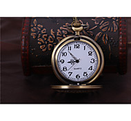 Unisex Pocket Watch Lucky Retro Flip Pocket Watch Cool Watches Unique Watches