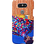 KARZEA™Balloon Pattern PU Leather Back Cover Case with Card Holder and Stand for LG G3/LG G4/LG G5