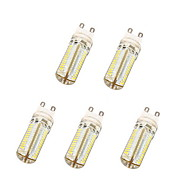5W G9 LED Corn Lights T 104 SMD 3014 600 lm Warm White / Cool White AC 220-240 V 5 pcs