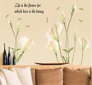 Botánico / Romance / Naturaleza muerta / De moda / Florales / Paisaje / Fantasía Pegatinas de pared Calcomanías de Aviones para Pared