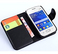 PU Leather Card Holder Phone Holster for Samsung Galaxy Pocket 2(Assorted Colors)