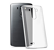 Для Кейс для LG Прозрачный Кейс для Задняя крышка Кейс для Один цвет Мягкий TPU LG LG K10 / LG K7 / LG G5 / LG G4 / LG G3