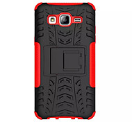 For Samsung Galaxy Case Shockproof / with Stand Case Back Cover Case Armor PC Samsung On 7 / On 5