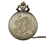 Unisex Pocket Watch Queen Mother And Son Duo Bronzer Flip Shiying Huai Table Cool Watches Unique Watches