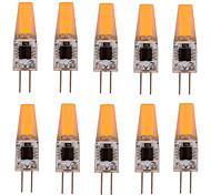10 pcs YWXLIGHT G4 4W 1 COB 300-360 lm Warm White / Cool White Dimmable LED Bi-pin Lights AC 220 / AC 110 V