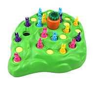 Challenge Stimulate Obstacle Rabbit Motocross Toys Trap Game Green