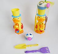 été jouets plage roue d'eau de canard (4pcs)