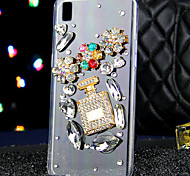 For OPPO Case Rhinestone Case Back Cover Case 3D Cartoon Soft TPU OPPO