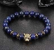 New Arrival Nature Stone Leopard Bracelet Strand Bracelets Daily / Casual 1pc Christmas Gifts