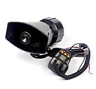 12V Loud Horn 5 Sounds Car Motorcycle PA Speaker System Truck