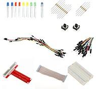 Raspberry Pi GPIO Breakout Board / Cobbler Bundle (40-Pin T-Shaped - Assembled)