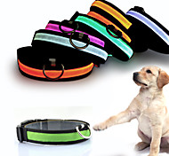 New Traction Dog supplies LED emitting bright light leash dog harness pet chain collar dog leash