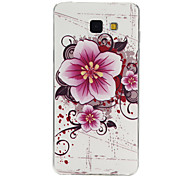 Flowers Pattern TPU Material Phone Case for Samsung Galaxy Galaxy A3(2016)/Galaxy A5(2016)/Galaxy A7(2016)