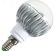 1 pcs E14 / E26/E27 / B22 6 W 1 High Power LED 540 LM RGB Dimmable / Remote-Controlled Globe Bulbs AC 85-265 V