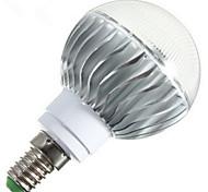6W E14 / B22 / E26/E27 Bombillas LED de Globo G60 1 LED de Alta Potencia 540 lm RGB Regulable / Control Remoto AC 85-265 V 1 pieza