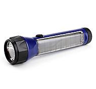 Torce LED LED 1 Modo 100 Lumens Ricaricabile LED Batteria al litio Campeggio/Escursionismo/Speleologia / Uso quotidiano-Altro,Viola
