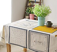 Table cloth Fashion Hotsale High-grade Cotton Linen Square Coffee Table Cloth Cover Towel