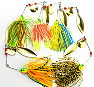 16.3g/pcs Metal Fishing Lures Spiner Bait Fresh Water Shaltwater Water Walleye Crappie Minnow Fishing Baits  5 PC