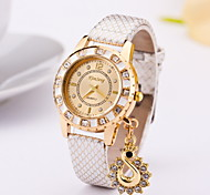 Women's Fashionable Full Diamond Swan Pendant Watch Cool Watches Unique Watches
