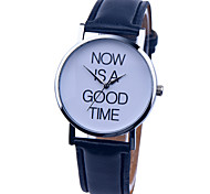 Vintage Watch Letter Leather Watch Womens Watch Ladies Watch Mens Watch Unisex Watch