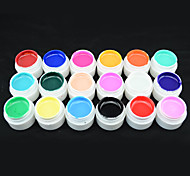 20201 2016 Hot Sale CANNI Factory GOCOCO 18 Colors 5ml Professional Nail Paint UV Gel