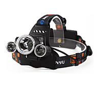 Lights Headlamps Headlamp Straps LED 6000 Lumens 4 Mode Cree XM-L T6 18650 Waterproof Rechargeable Night VisionCamping/Hiking/Caving