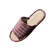 Modern/Contemporary Slide Slippers Women's Slippers Green / Burgundy